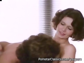 Vintage action of classic mature starlet Desiree