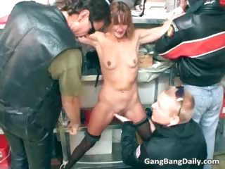 Old milf is getting destroyed part5