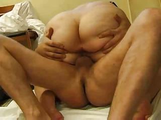 Fatty Mature Mom With A Big Ass Seducing A
