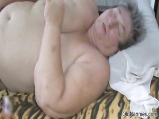 Horny fat mature whores go crazy getting part2
