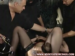 Pumped pierced mother Id like to fuck drilled in