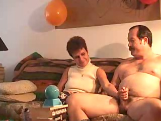 Mature Couple's First Sex Tape