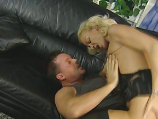 Blond German Milf gets fucked