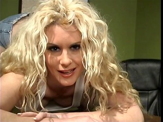 Blonde MILF in heat banged hard