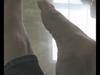 Foot Fetish with Delicious mother Id like to fuck