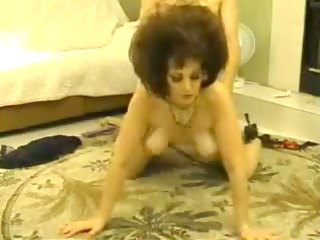 Mature jigged in doggy