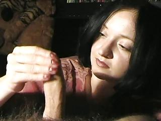 Mature cock milking